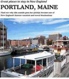 Portland, Maine, Waterfront