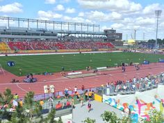 #Schulich might win 'best building' at #YorkU, but this week @YorkUScience clearly wins 'best view'! #PanAmGames