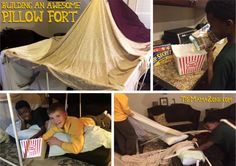 TheMamaZone.com: The Secret to Building Awesome Pillow Forts #PopSecretForts #sponsored Visit to share your fort and you might receive goodies from Pop Secret http://ooh.li/fd52d82
