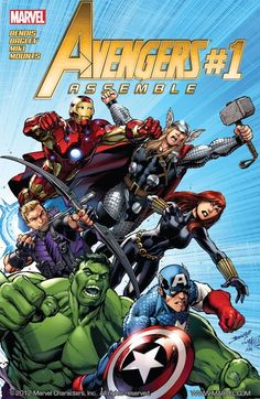 Avengers Assemble #1 The Avengers vs. the new Zodiac! One of the greatest Avengers villains gets reinvented for the Modern Age! A perfect jumping-on point featuring the cast of the summer blockbuster in Marvel Universe!