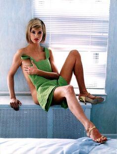 Linda Evangelista, photo by Steven Meisel, Vogue Italia, 1994