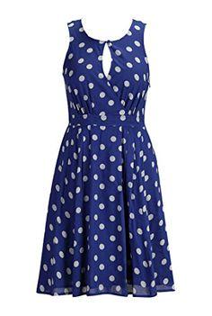 eShakti Women's Polka dot voile print keyhole dress XL-16 Short Royal blue/light gray eShakti http://www.amazon.com/dp/B00MWXRENE/ref=cm_sw_r_pi_dp_hTLhub0V2K7A9