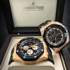 In some cases part of that image is the quantity of money you invested to use a watch with a name like Rolex on it; it is no secret how much watches like that can cost. Audemars Piguet Watches, Audemars Piguet Royal Oak, Seiko Watches, Vintage Watches For Men, Luxury Watches For Men, Patek Philippe, Casual Watches, Cool Watches, Men Accessories