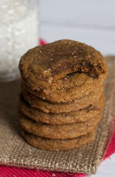 Soft and Chewy Ginger Cookies | The Baker Chick