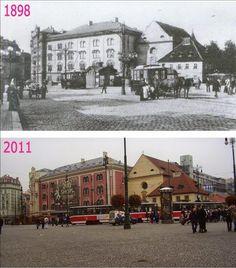 Praha v proměnách času VI. Prague Photos, Colourful Buildings, Fairytale Castle, World Cities, Street Artists, More Pictures, Czech Republic, Time Travel, Old Photos