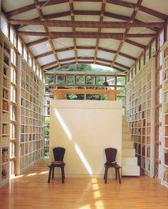 Bilderesultat for shigeru ban house for librarian