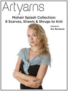 Mohair Splash Collection by designer Iris  Schreier.