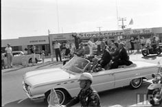 John Glenn post launch parade 1962 in Cocoa Beach, FL (actually looks like Cape Canaveral)