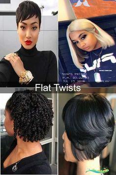 Black Hairstyles African Women Hair Cut | Fishtail Ponytail | African Hairstyles For Girl<br> Cute Bob Hairstyles, Short Black Hairstyles, Box Braids Hairstyles, African Hairstyles, Girl Hairstyles, Fishtail Ponytail, Hot Hair Colors, Short Wigs, Flat Twist