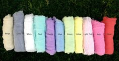 Lovely Gauze Wraps for Newborn Photos - 11 colors! Teal, Purple, Pink, Mother's Day Photos, Sewing Machine Reviews, Flour Sack Towels, Kid Spaces, Newborn Photos, Grey And White