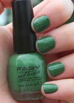 FABY - Mint Bubbles | AN OBSESSION WITH THE FABULOUS