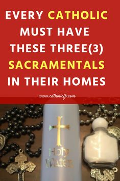 Every Catholic Must have these 3 LDS Sacramentals in their homes. They are the ultimate blessed symbols for daily activities Catholic Confirmation, Catholic Bible, Catholic Religion, Catholic Quotes, Catholic Saints, Roman Catholic, Catholic Kids, Mom Prayers, Novena Prayers