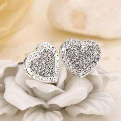 Michael Kors Heart Charm Earrings