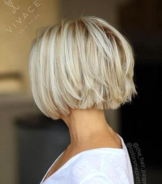 59. Choppy Piecey Blonde Bob Maybe youre wondering why some women prefer choppy uneven bobs to blunt cuts. Choppy bobs create a sense of chunkiness that makes them fabulous haircuts for fine hair. By focusing attention on textured layers you create an illusion of volume and width. Haircuts For Fine Hair, Short Bob Hairstyles, Fine Hair Bobs, Formal Hairstyles, School Hairstyles, Men's Hairstyles, Wedding Hairstyles, Choppy Bob Haircuts, Popular Hairstyles