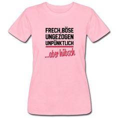 Frauen Mädchen lässiges T-Shirt Nicht alles ist SCHEISSE lustige Sprüche Spruch