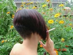 23 Best Smoking With Short Haircut Images In 2019 Pixie