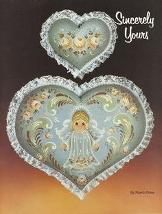 3- Simply Yours Tole Painting Books by March Fries~vintage craft supplies~♥etsy♥ $13.95