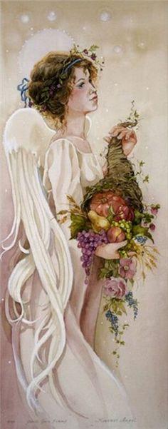 Уют и очарование в живописи Sandi Gore Evans » RadioNetPlus.ru развлекательный портал