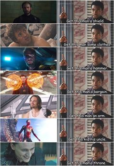 Tagged with marvel, avengers, infinity war, get this post some points; Shared by Avengers: Infinity War trailer dump Avengers Humor, The Avengers, Marvel Jokes, Films Marvel, Funny Marvel Memes, Dc Memes, Marvel Dc Comics, Marvel Heroes, Loki Meme