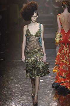 Jean Paul Gaultier Spring 2005 Couture Fashion Show - Emina Cunmulaj
