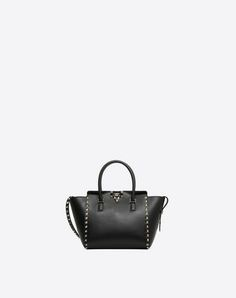 c461b94a3f13 Discover the Small Rockstud top-handle bag for Woman. Find the entire  collection at the Valentino Online Boutique and shop designer icons to wear.