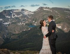 Rocky Mountain National Park Wedding in CO Mountains