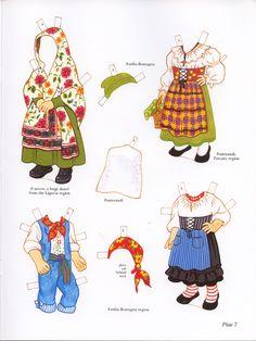 Italian Girl and Boy Paper Dolls (Sofi & Ernesta) / Kathy Allert, Dover (7 of 11)