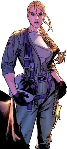 Ms. Marvel - Marvel Comics - Carol Danvers profile part one