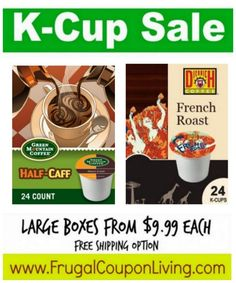 K-Cup Sale Starting at $.42 per K-Cup + Close Out Sale!