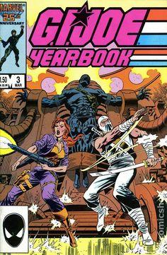 gi joe cover marvel number one | GI Joe Yearbook (1985) comic books