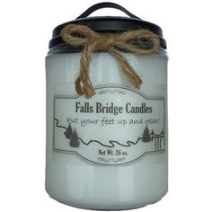 FallsBridgeCandles Butterfly Kisses Jar Candle Size: