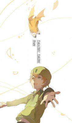 Takeru & Patamon   Digimon #anime