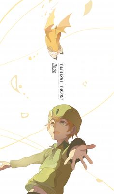 Takeru & Patamon | Digimon #anime