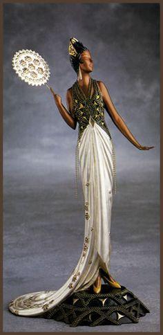 Erte Art Deco Figurine 'Fedora'
