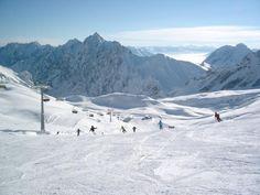 Zugspitze, Garmisch, Germany  Best skiing ever!