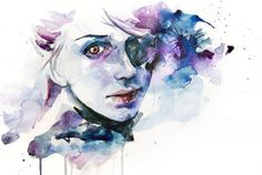 Artist Silvia Pelissero   watercolor paintings