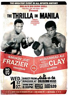 """Blogger Trules reminisces back on """"The Greatest"""" of his boyhood heroes, Cassius Clay aka Muhammad Ali."""