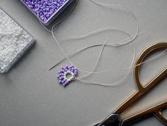 DIY guide: Beaded Pearl Earrings | Diverse | Fashionpolish Body Jewelry, Fine Jewelry, Beaded Jewelry, Silver Jewelry, Diamond Earrings, Pearl Earrings, Tiffany Jewelry, Jewelry Holder, Simple Jewelry