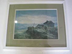 White frame-print-Ashley Jackson-Upper Knowles Farm