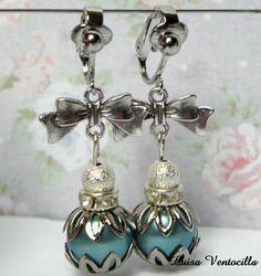 Ohrclips  von Luisa Ventocilla Shop auf DaWanda.com