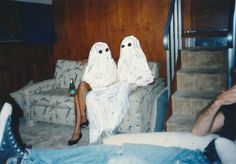 Ghost Photographs by Angela Deane