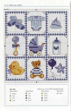 Baby boy diy cards for kids 58 New Ideas Baby Cross Stitch Patterns, Cross Stitch Baby, Cross Stitch Designs, 2 Baby, Baby Kind, Baby Birth, Baby Embroidery, Cross Stitch Embroidery, Hand Embroidery Patterns