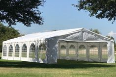 40 x 20 Budget Party Tent Canopy Gazebo - White - Pvc Tent, Tent Canopy, Party Tent Decorations, Car Shelter, Tent Wedding, Farm Wedding, Wedding Ideas, Camping Needs, Plastic Windows