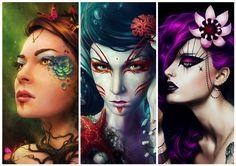 Goddesses of the Nature - Wallpaper by sanguisGelidus.deviantart.com on @deviantART