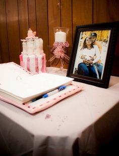 "Photo 6 of 22: Pink and Brown / Baby Shower/Sip & See ""Zuleika's Babyshower"" 