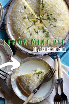 The freshness of the lemons and mint add to the lip smackin' good flavors that burst with each bite. And, the lemon drizzle is just icing on the cake. #lemoncake #easycake Homemade Desserts, Easy Desserts, Delicious Desserts, Dessert Recipes, Sweet Recipes, Easy Recipes, My Favorite Food, Favorite Recipes, Mint Cake