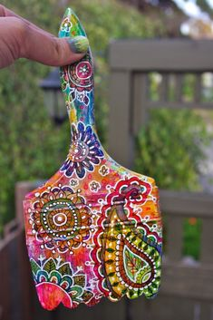 """Beautiful """"Altered Paintbrush"""" This makes me smile"""