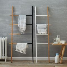Umbra Hub Adjustable Organizational Ladder | west elm