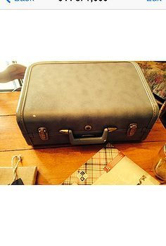 upcycled vintage suitcase, diy home crafts, repurposing upcycling - idea for old sewing machine case