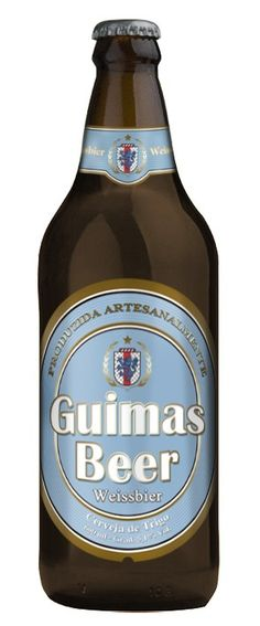 Cerveja Guimas Beer Weissbier, estilo German Weizen, produzida por Guimas Beer, Brasil. 5.1% ABV de álcool.